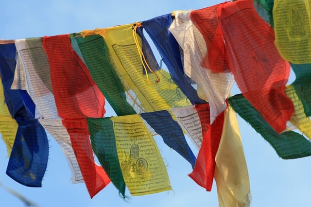 pixabay prayer flags