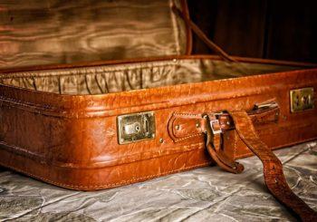 empty suitcase